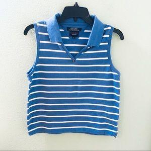 Tommy Jeans (Hilfiger) Blue white stripe tank top
